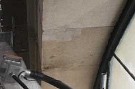 Sandsteinbogenreinigung3